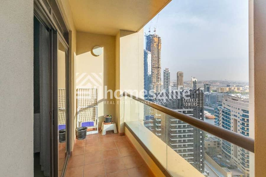 2 Furnished 2BR l Marina View l Large Layout