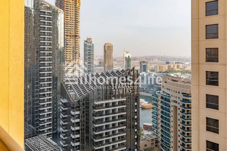 15 Furnished 2BR l Marina View l Large Layout