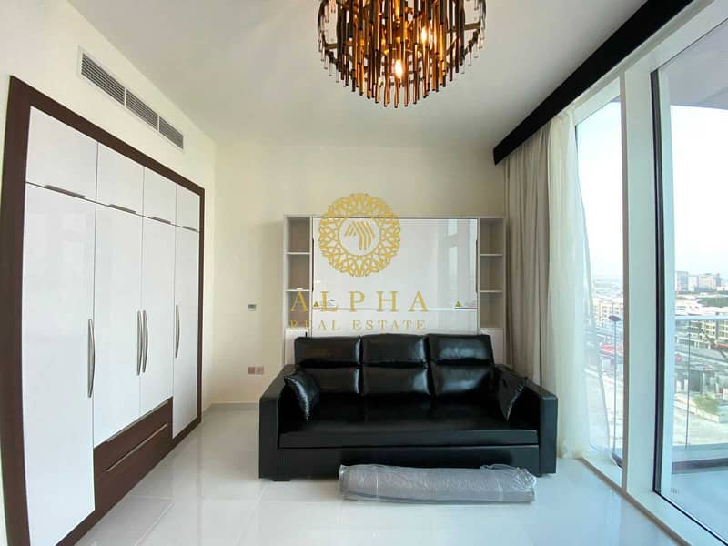 Brand New   Fully Furnished Studio   Huge Balcony