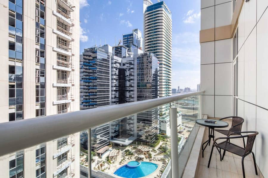 شقة في مون ريف وسط مدينة دبي 2 غرف 1875000 درهم - 5321797