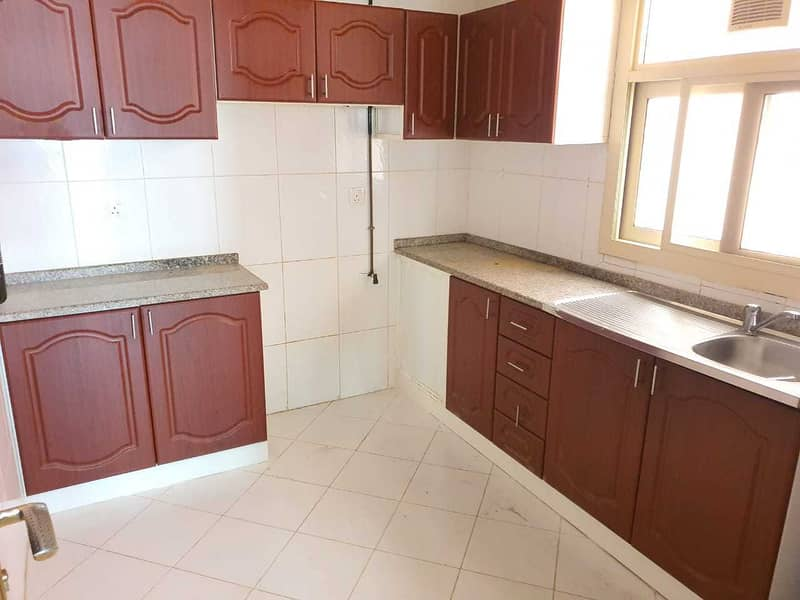 Opposite Muwailah Park 1BHK Rent With Parking + Grace Period 21K Close To Sharjah Cooperative