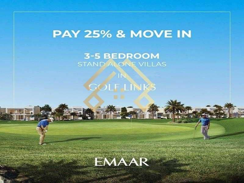 2 Ready 3-5 bedrooms stand alone villas