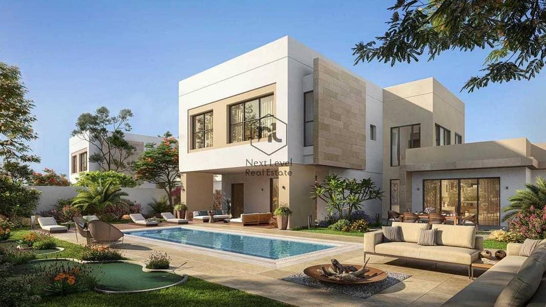 فیلا في ذا ماغنولياس ياس ايكرز جزيرة ياس 4 غرف 5500000 درهم - 5356038