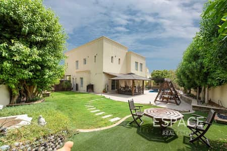 4 Bedroom Villa for Sale in The Lakes, Dubai - Exclusive | Rare Type 4 with Large Plot