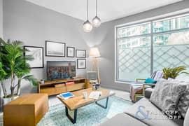 شقة في برج بونير بارك أيلاند دبي مارينا 2 غرف 145000 درهم - 5356296