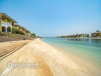 4 Bedroom Villa for Rent in Palm Jumeirah, Dubai - Vacant |  Atrium Entry | Marina and Skyline View