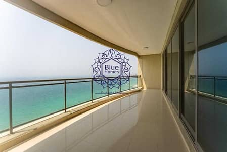 3 Bedroom Apartment for Rent in Al Mamzar, Sharjah - Executed Chiller Free Sea View 3bhk free All Room Master+ 2 Parkings  with Private Beach  just 130k