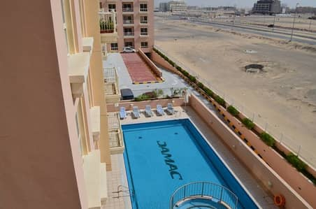 VOT Pool view 1BR Rose 2 Emirates Gardens-2