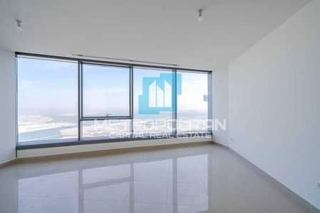 1 Bedroom Flat for Sale in Al Reem Island, Abu Dhabi - Wonderful Sea View  High Floor   Prestigious Tower