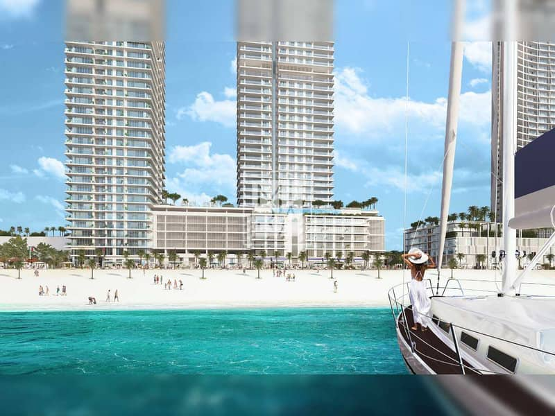 Prestigious Beach Residence   Exceptional View with Private Beach Access   Exclusive 1 Bedroom Apartment