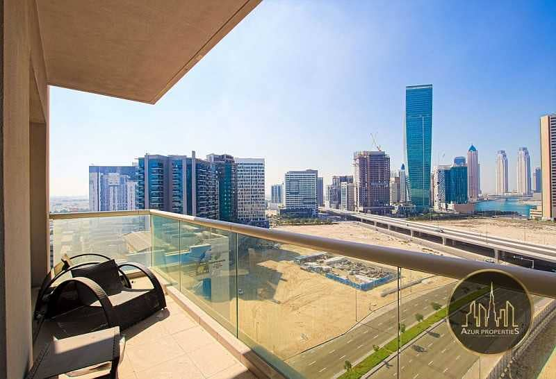 1BR w/ Canal View Well Maintained W/ Balcony