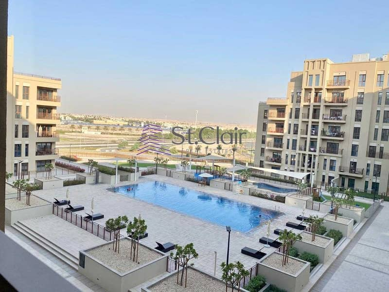 Pool View | Best Buy Large 1 Bedroom in Zahra