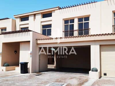 3 Bedroom Townhouse for Rent in Al Raha Golf Gardens, Abu Dhabi - Vacant! Luxurious family home w/ maidsroom