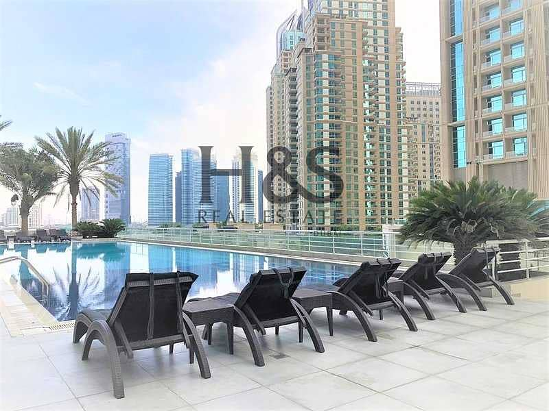 Pool View | Fully Furnished Apt | Chiller Free