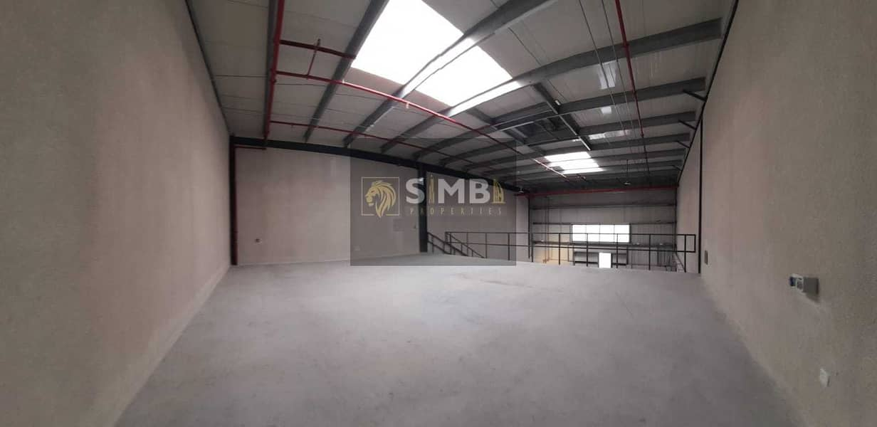 2 FULLY INSULATED BRAND NEW  WAREHOUSE IN A PRIME LOCATION