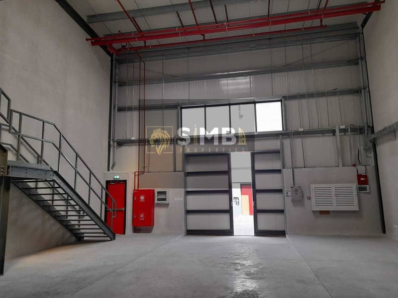 10 FULLY INSULATED BRAND NEW  WAREHOUSE IN A PRIME LOCATION