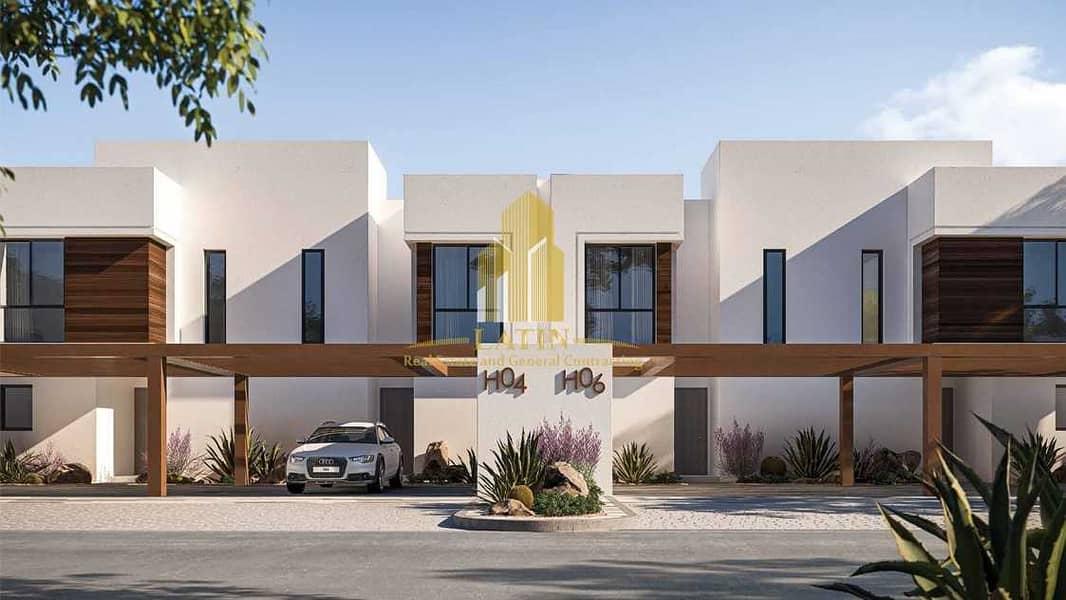 For sale | Noya Viva | Villa of 2 Bedrooms + Maid's In Yas Island | Luxurious area ! | Under process