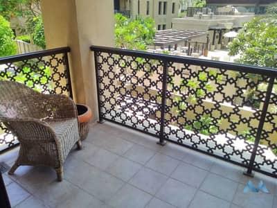فلیٹ 3 غرف نوم للايجار في المدينة القديمة، دبي - UNFURNISHED 3BR+M APARTMENT   OLD TOWN YANSOON 7   LOW FLOOR  