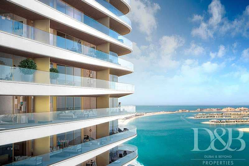 2 Resale    Luxury Unit by Elie Saab   Beachfront