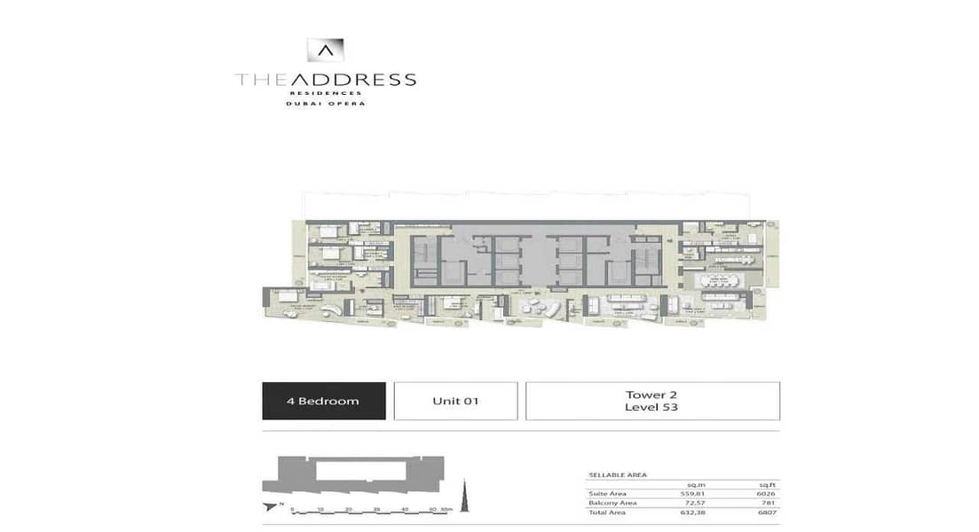 11 Four Bedroom   Payment Plan   Burj View   No Fees