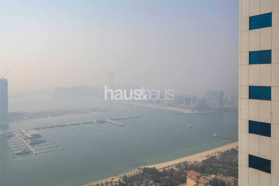 15 High floor | Chiller free | Sea view | Unfurnished