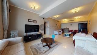 شقة في برج دي إي سي 1 برج دي إي سي دبي مارينا 2 غرف 1100000 درهم - 5358405