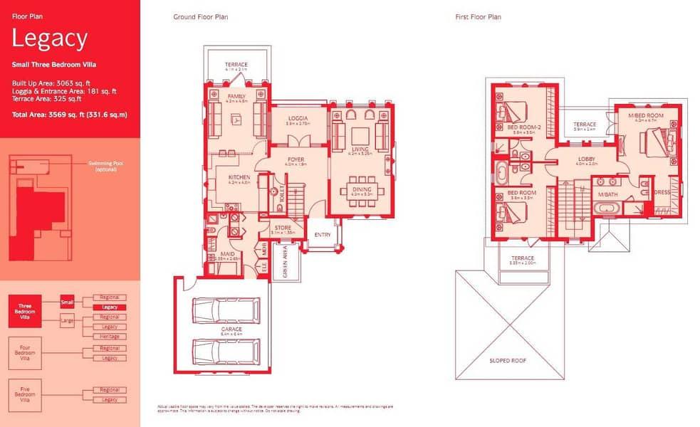 12 3 Bedrooms | Huge Plot | Great condition