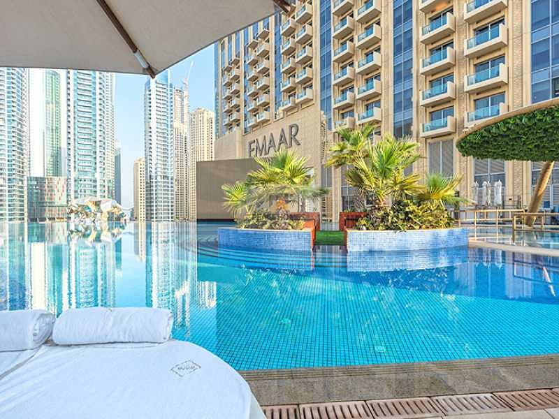 MARINA VIEW | HIGH-END 1BR | FULLY FITTED KITCHEN | DUBAI MARINA