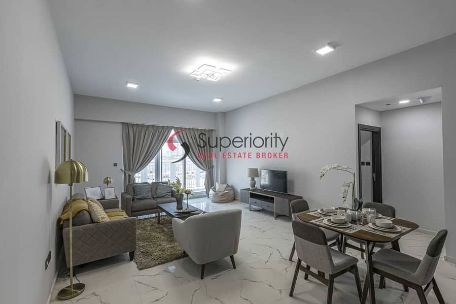 NEW BUILDING | BRAND NEW FULLY FURNISHED 1BEDROOM