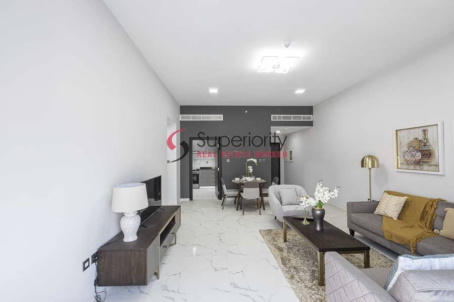 2 NEW BUILDING | BRAND NEW FULLY FURNISHED 1BEDROOM