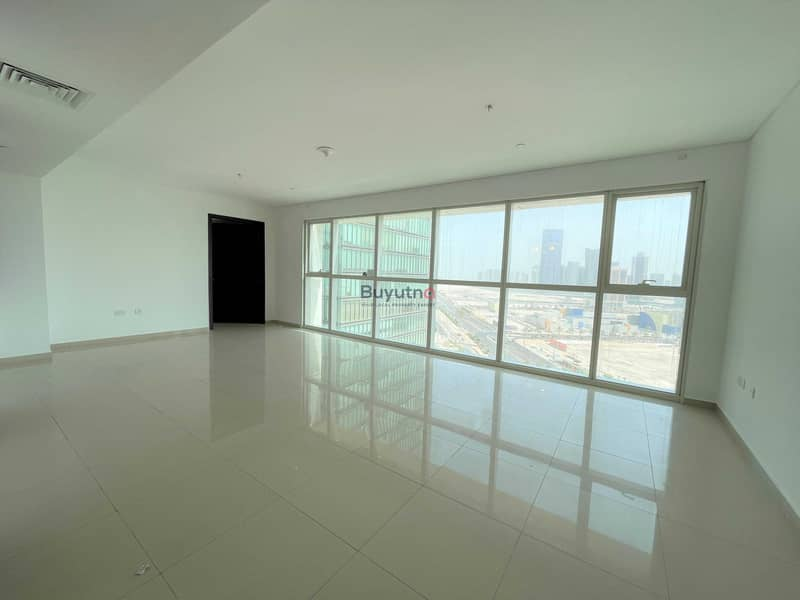 Neat & Clean  Ready To move in City & Sea View