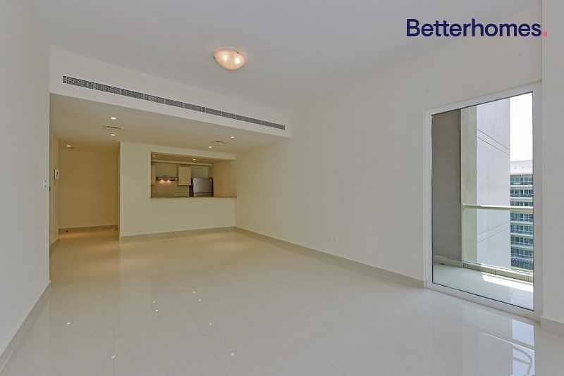 2 Pool and courtyard view 2BR I High Floor