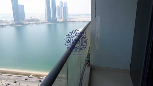 2 Bedroom Flat for Rent in Al Mamzar, Sharjah - Partial Sea View Chiller Free  2BR with Maids Room+Parking Gym Pool  just 48k