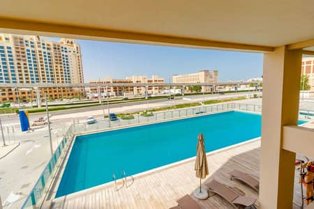 استوديو  للايجار في نخلة جميرا، دبي - Sea view | Huge studio | Move in ready