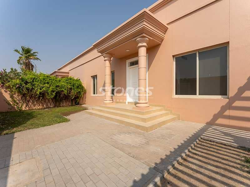 A Well-Maintained Unfurnished Villa