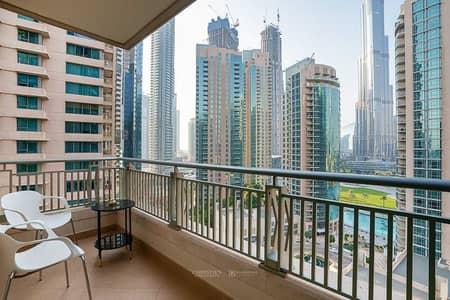 فلیٹ 2 غرفة نوم للايجار في وسط مدينة دبي، دبي - Exclusive|Iconic View of Burj Khalifa and Fountain