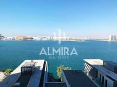 Own your full sea view 3BR+M w/ full facilities