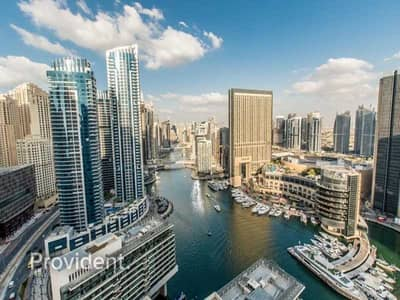 1 Bedroom Apartment for Rent in Dubai Marina, Dubai - Exclusive | Luxury Furnished with Full Marina View