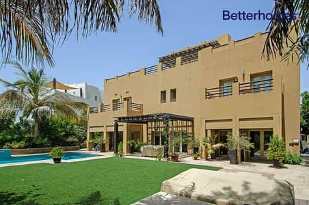 6 Bedroom Villa for Sale in The Lakes, Dubai - Huge Plot   Golf Course View   Type L1   Extended