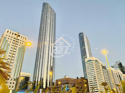 3 Bedroom Flat for Rent in Al Markaziya, Abu Dhabi - 3 BR in  WTC with NonCommission