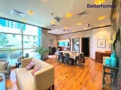 فیلا في برج السحاب 1 السحاب دبي مارينا 3 غرف 225000 درهم - 5359508