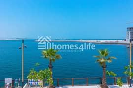 شقة في بورت دو لا مير لا مير جميرا 1 غرف 100000 درهم - 5359709