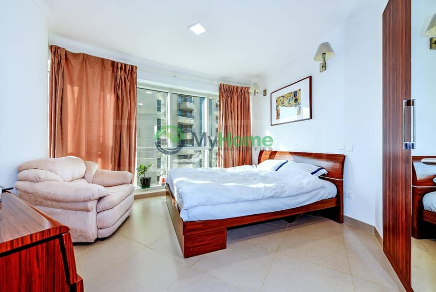 10 Upgraded 1 BR Furnished rent 78k JLT