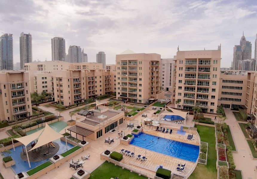 2 Bed + Study | Renovated | Pool & Garden View