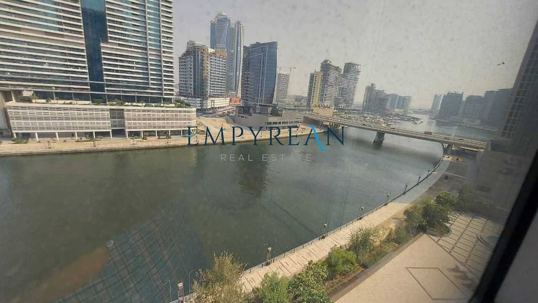 Spacious unit   Full Canal View   With Maid Room