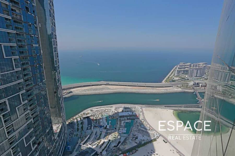 2BR | Stunning Sea View | Vacant