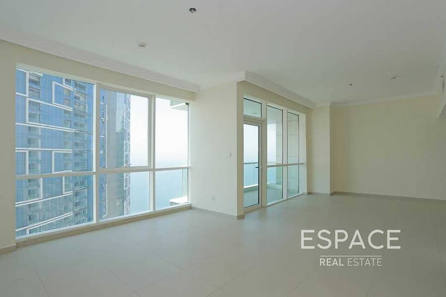 2 2BR | Stunning Sea View | Vacant