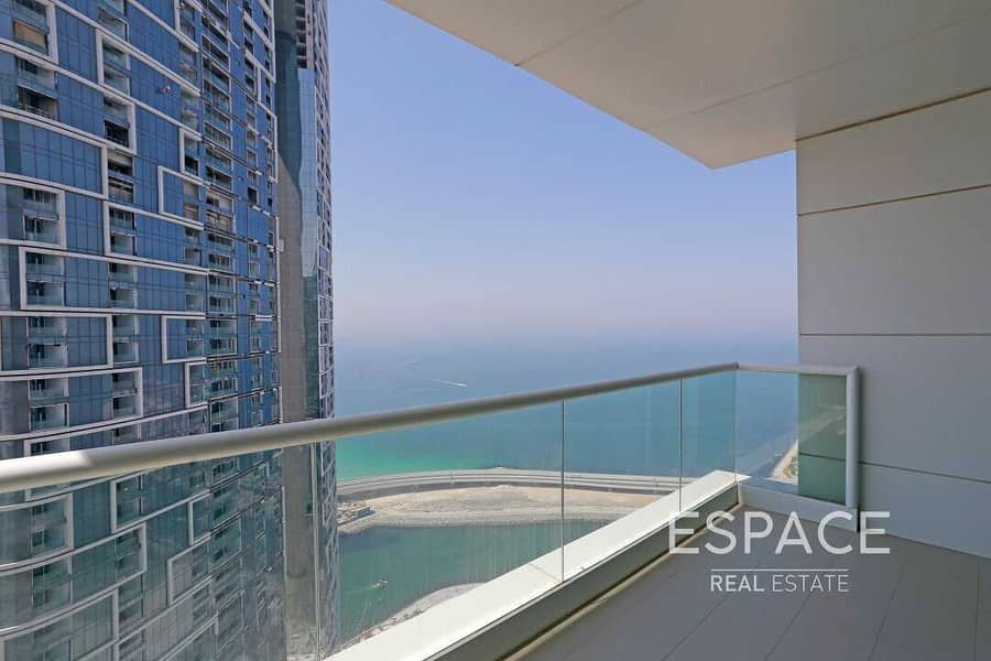 13 2BR | Stunning Sea View | Vacant