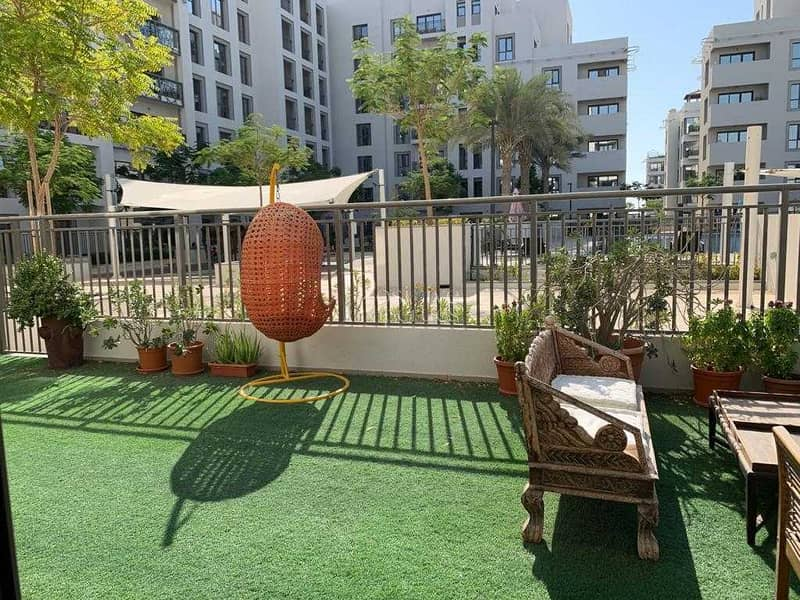 PODIUM LEVEL LANDSCAPED TERRACE LIKE BALCONY  DIRECT ACCESS TO AMMENTIES