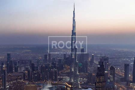 2 Bedroom Flat for Sale in Downtown Dubai, Dubai - High floor | Great ROI | Spacious 2-beds